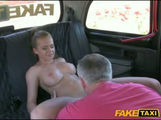 Sexy blond customer fucked and jizzed on