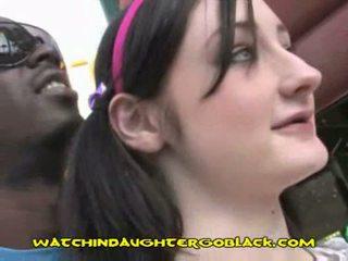 White teen wants black meat
