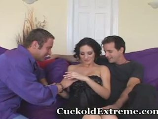 Cuckold Wife Shows Hubby How It's Done