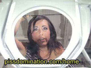 Dixie Comet Femdom Toilet Pervert POV Piss