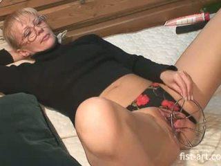 Extreme mature mother bizarre huge insertions fetish