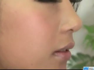 Satomi Suzuki goes wild on a powerful cock