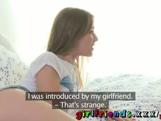 Girlfriends Cute new girl gets behind the scenes tour