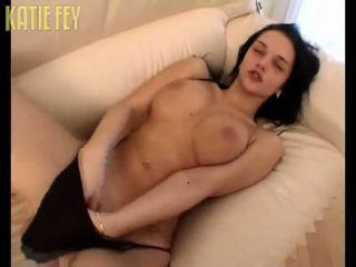 Katie Fey masturbating