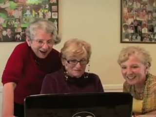 3 Grannies React To Big Black Cock Porn Video