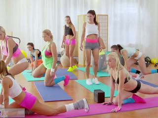 Fitness Rooms Big Boobs Lesbians Have Rampant Gym...