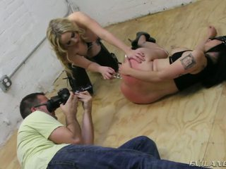 Behind The Scene Aiden Starr Arabelle Raphael And Mr Pete