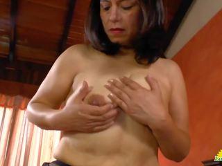 Latinchili Luxurious Tits of Anabella Pussy Toying: Porn fb