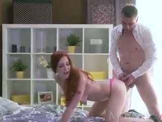 MOM Sexy Milf Redhead has her tight hole licked and fucked