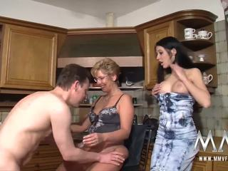 MMV FILMS Busty Mature Amateur Threesome