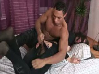 Wench Cries From Painful Enjoyment From Wild Anal Banging