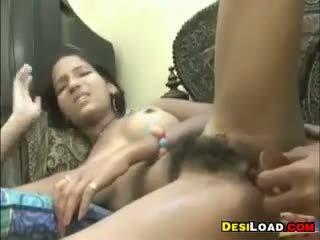 Hairy Indian Teen Anal Fucked