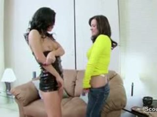 Hot Mother Show Step-Daughter How To Fuck With Cock