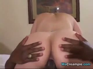Housewife Creampied By Big Black Cock
