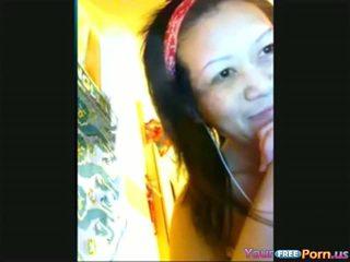 Asian Cam Girl Masturbating For Boyfriend