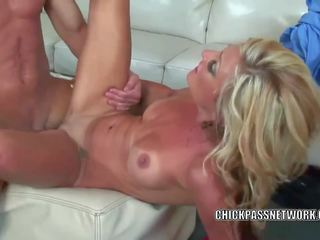 Blonde MILF Val Malone is Getting Her Tight Twat Stuffed