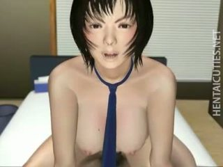Chesty 3D anime hottie gets nailed