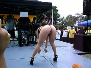 Bikini Contest With Big Ass Shakin