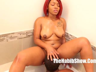 Sexy Phat Booty Thickred Getting Fucked by BBC Stretch