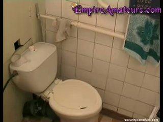Teen Toilet Masturbation