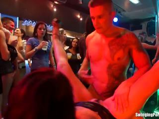 Group Sex At The Party In Bar