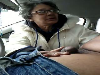 Granny Whore Gumjob Swallow, Free Cum in Mouth HD Porn f2