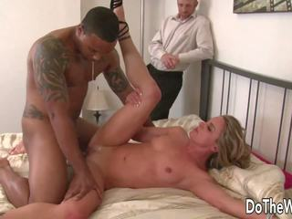 White Wife Pussy Black Man Cock and Facial: Free HD Porn 40