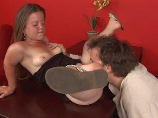 Randy Dude Wants to Fuck a Brunette Midget Slut: HD Porn 0f