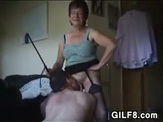 Dominating Granny Wants Oral Sex