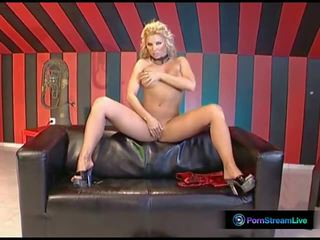 Nympho Ginger Jones Spreads Her Pussy for the Camera...