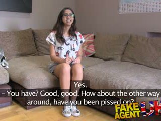 Fakeagentuk Hot Euro Chick Loves Deepthroat Pussy Fucking and Anal Sex Video