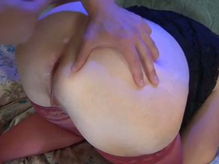 Fat Russian Mature Slut Loves Hard Hot Anal Creampie...