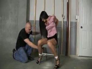 Tied in Basement: Free Bondage Porn Video e3