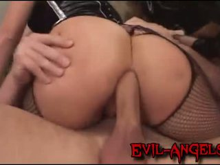 Group sex anal orgy where hot blondes get their assholes ravaged