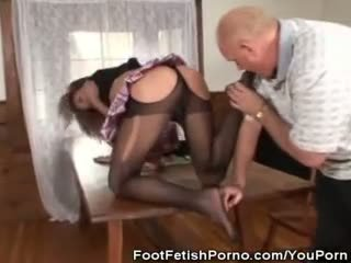 Stockings and Foot Fetish