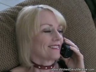Amateur Mom Cumplay With Son