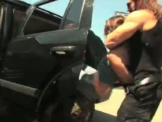 Austin pussy gets fucked by a bounty hunter