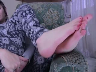 Sexy Feet Tease: Foot Fetish HD Porn Video 5b