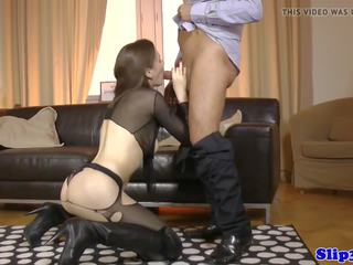 Amateur Lingerie Euro Doggystyled by Oldman: Free Porn 16