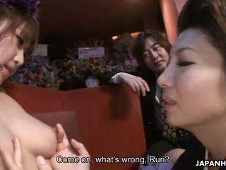 Japanese Gal Sayuri Mikami In A Ffm Threesome
