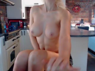 British Step Mom Masturbating in the Kitchen: Free Porn 7d