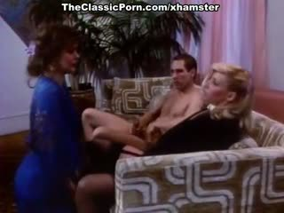 Bridgette Monet, Joey Silvera, Sharon Kane in vintage sex