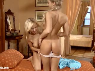 Ally with Bellina Doing Lesbian Sex on Sapphic Erotica