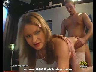 Slave gets pissing from master