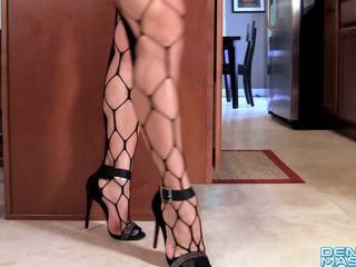 Denise Masino-New Dancing Shoes Video - Female Bodybuilder