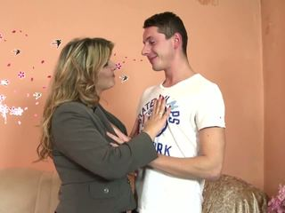 Lucky Son Fucks 3 Mature Not His Mothers, Porn e4
