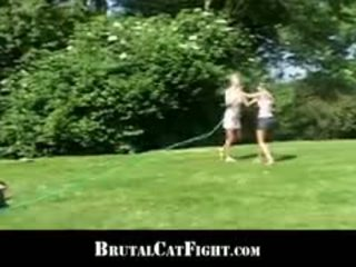 Girlfriend And Mistress In A Hardcore Catfight And Fuck