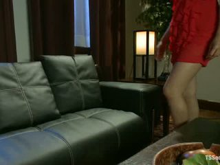 Brand New Ts Fucking Sensation Annalise Rose At A Swinger Party1