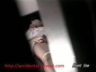Asian Schoolgirl Caught Masturbating In Her Bedroo
