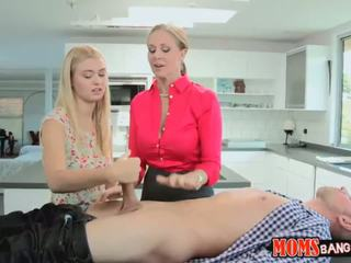 Ladies Julia and Natalie are felling horny today